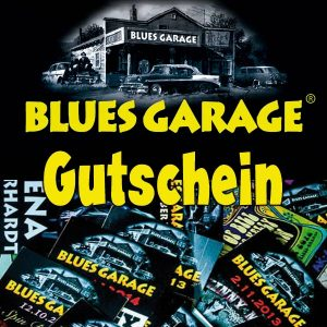 Blues Garage Gutschein