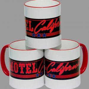 """Kaffeebecher """"Motel California"""""""